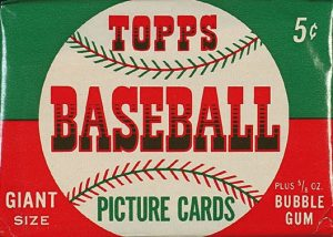 1952 Topps Baseball Pack (Front Side)