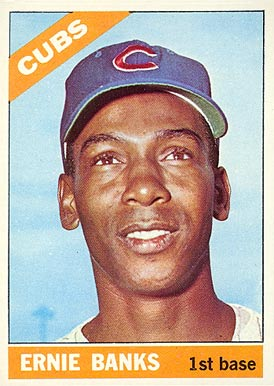 1966 Topps #110 Ernie Banks Baseball Card