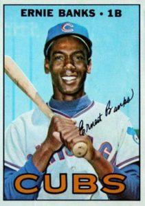 1967 Topps #215 Ernie Banks Baseball Card