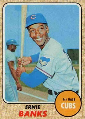 1968 Topps #355 Ernie Banks Baseball Card