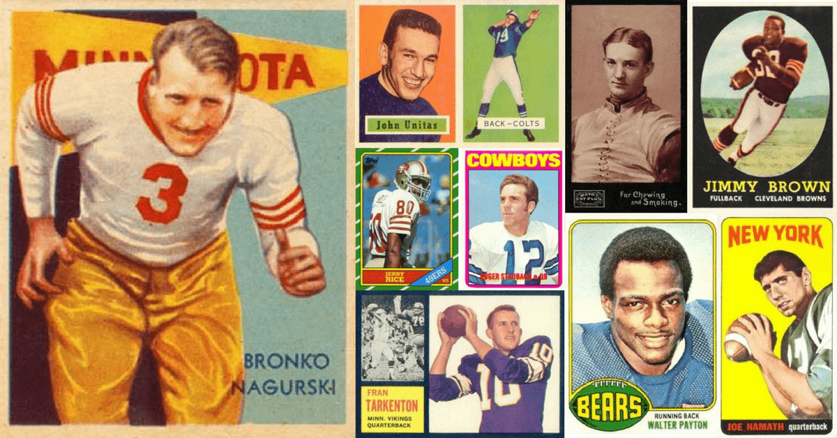 40 Most Valuable Football Cards The All Time Dream List Old