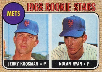 1968 Topps #177 Nolan Ryan Rookie Card