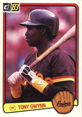 1983 Donruss Tony Gwynn Rookie Card