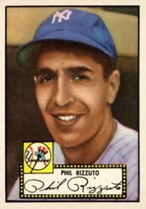 1952 Topps #11 Phil Rizzuto Baseball Card