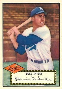 1952 Topps #37 Duke Snider Baseball Card