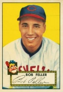 1952 Topps #88 Bob Feller Baseball Card
