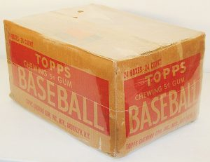 1952 Topps Baseball Cards Case