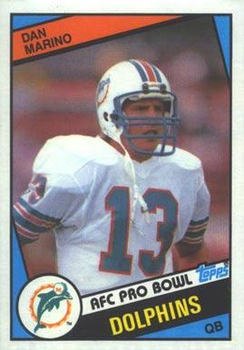 1984 Topps #123 Dan Marino Rookie Card
