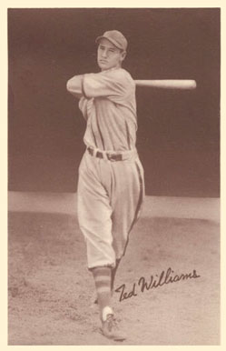 1939 Goudey Premiums Ted Williams Baseball Card