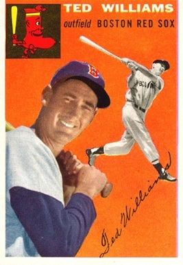 1954 Topps #1 Ted Williams Baseball Card