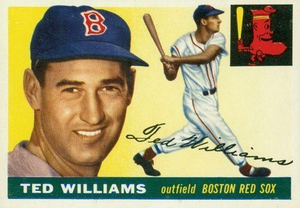1955 Topps #2 Ted Williams Baseball Card