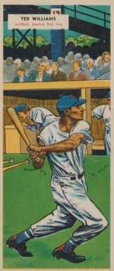 1955 Topps Doubleheaders Ted Williams Baseball Card