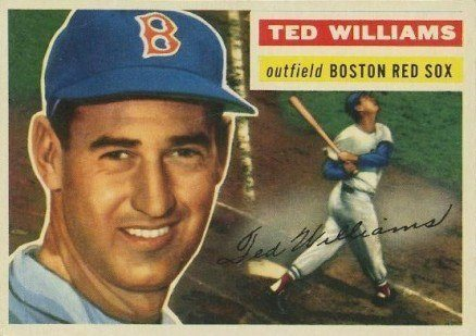 1956 Topps #5 Ted Williams Baseball Card