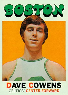 1971 Topps #47 Dave Cowens Rookie Card