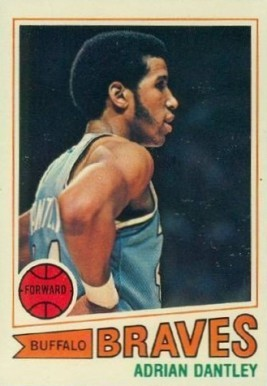 1977 Topps #56 Adrian Dantley Rookie Card