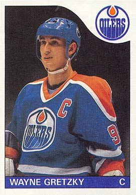 1985 Topps #120 Wayne Gretzky Hockey Card