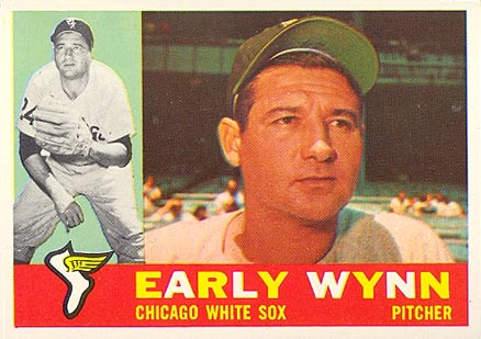 1960 Topps #1 Early Wynn Baseball Card