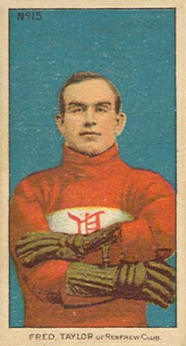 1910 C56 #15 Cyclone Taylor Rookie Card