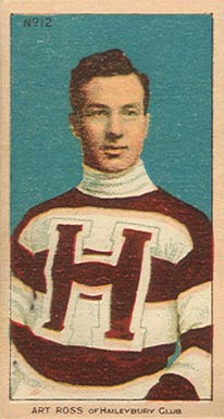 1910 C56 Imperial Tobacco #12 Art Ross Rookie Card