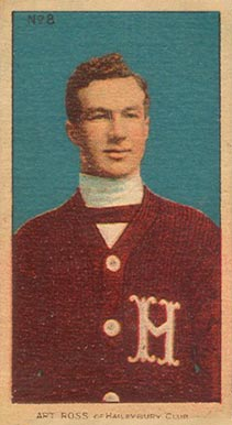 1910 C56 Imperial Tobacco #8 Art Ross Rookie Card