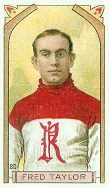 1911 C55 Imperial Tobacco #20 Cyclone Taylor Hockey Card