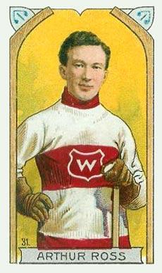 1911 C55 Imperial Tobacco #31 Art Ross Hockey Card