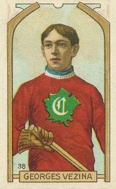 1911 C55 Imperial Tobacco #38 Georges Vezina Rookie Card