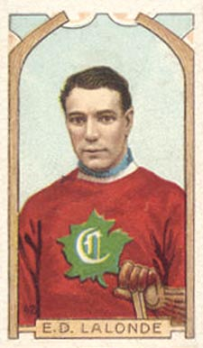 1911 C55 Imperial Tobacco #42 Newsy Lalonde Hockey Card