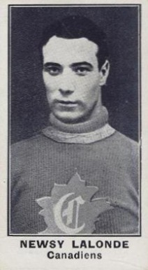 1912 C57 #44 Newsy Lalonde Hockey Card