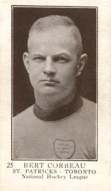 1923 V145-1 #25 Bert Corbeau Rookie Card