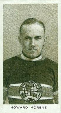 1924 Champ's Cigarettes Howie Morenz Hockey Card