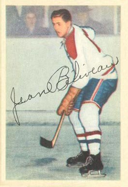 1953 Parkhurst #27 Jean Beliveau Rookie Card