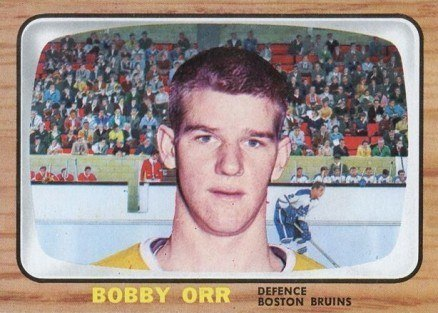 1966 Topps USA Test #35 Bobby Orr Rookie Card