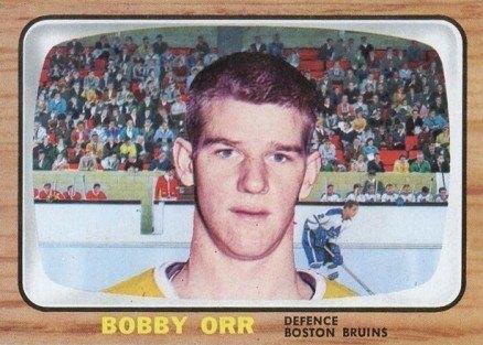 1966 Topps USA Test #35 Bobby Orr Rookie Card