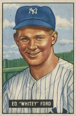 1951 Bowman #1 Whitey Ford Rookie Card