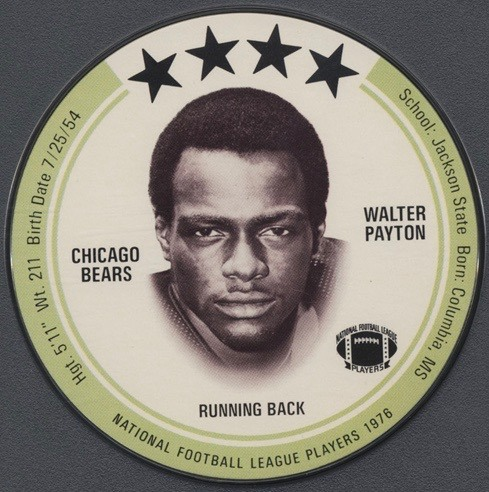 1976 Topps Walter Payton Rookie Card The Ultimate