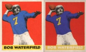 1948 Leaf Bob Waterfield Rookie Card