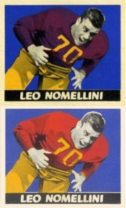 1948 Leaf Leo Nomellini Rookie Card
