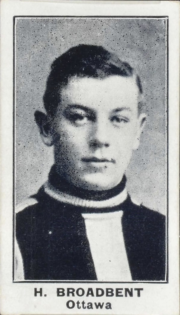 1912 C57 #2 Punch Broadbent Rookie Card