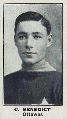 1912 C57 #3 Clint Benedict Rookie Card