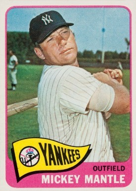 1965 Topps #350 Mickey Mantle Baseball Card