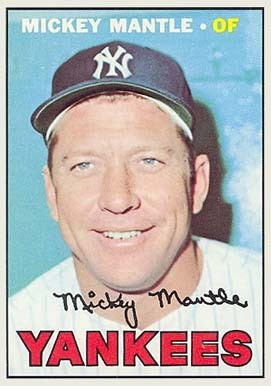 29 Best Mickey Mantle Baseball Cards The Ultimate