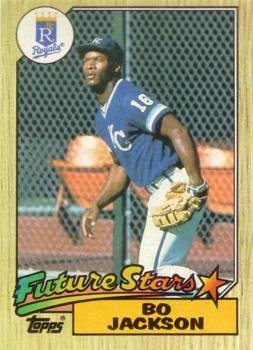 1987 Topps Tiffany #170 Bo Jackson Baseball Card