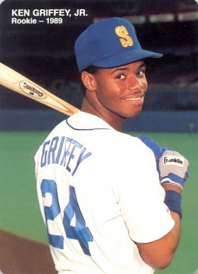 1989 Mother's Cookies #4 Ken Griffey Jr. Baseball Card