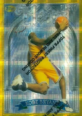 1996 Finest Gold Atomic Refractor #269 Kobe Bryant Basketball Card