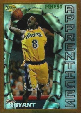 1996 Finest Refractor #74 Kobe Bryant Basketball Card