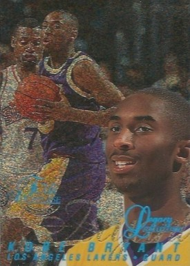 1996 Flair Showcase Legacy Collection Row 0 #31 Kobe Bryant Basketball Card