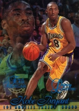 1996 Flair Showcase Legacy Collection Row 1 #31 Kobe Bryant Basketball Card