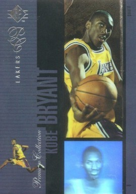 1996 SP Holoviews #PC18 Kobe Bryant Basketball Card