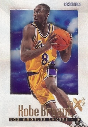 1996 Skybox E-X2000 Credentials #30 Kobe Bryant Basketball Card